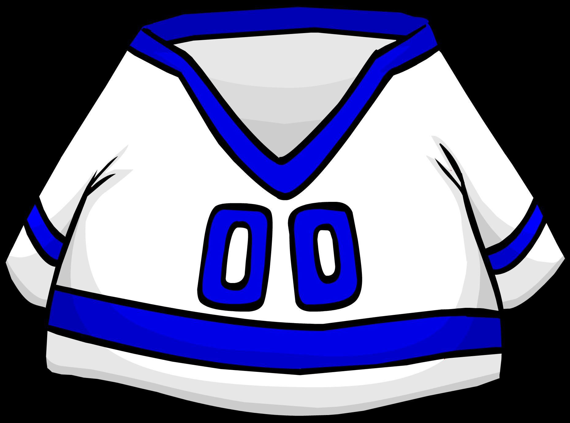 Blue Away Hockey Jersey