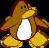Doodle Dimension penguin Brown