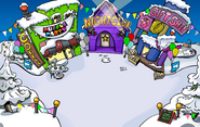 Puffle Party 2011 Town