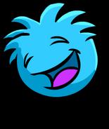 Blue PuffleBouncing