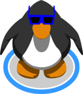 Blue Sunglasses IG