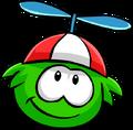 Green PufflePropeller
