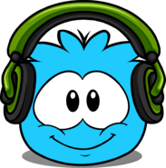 Puffle Headphones in Interface