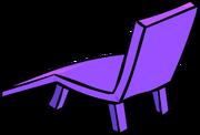Purple Plastic Lawn Chair sprite 003
