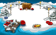 Winter Luau Dock