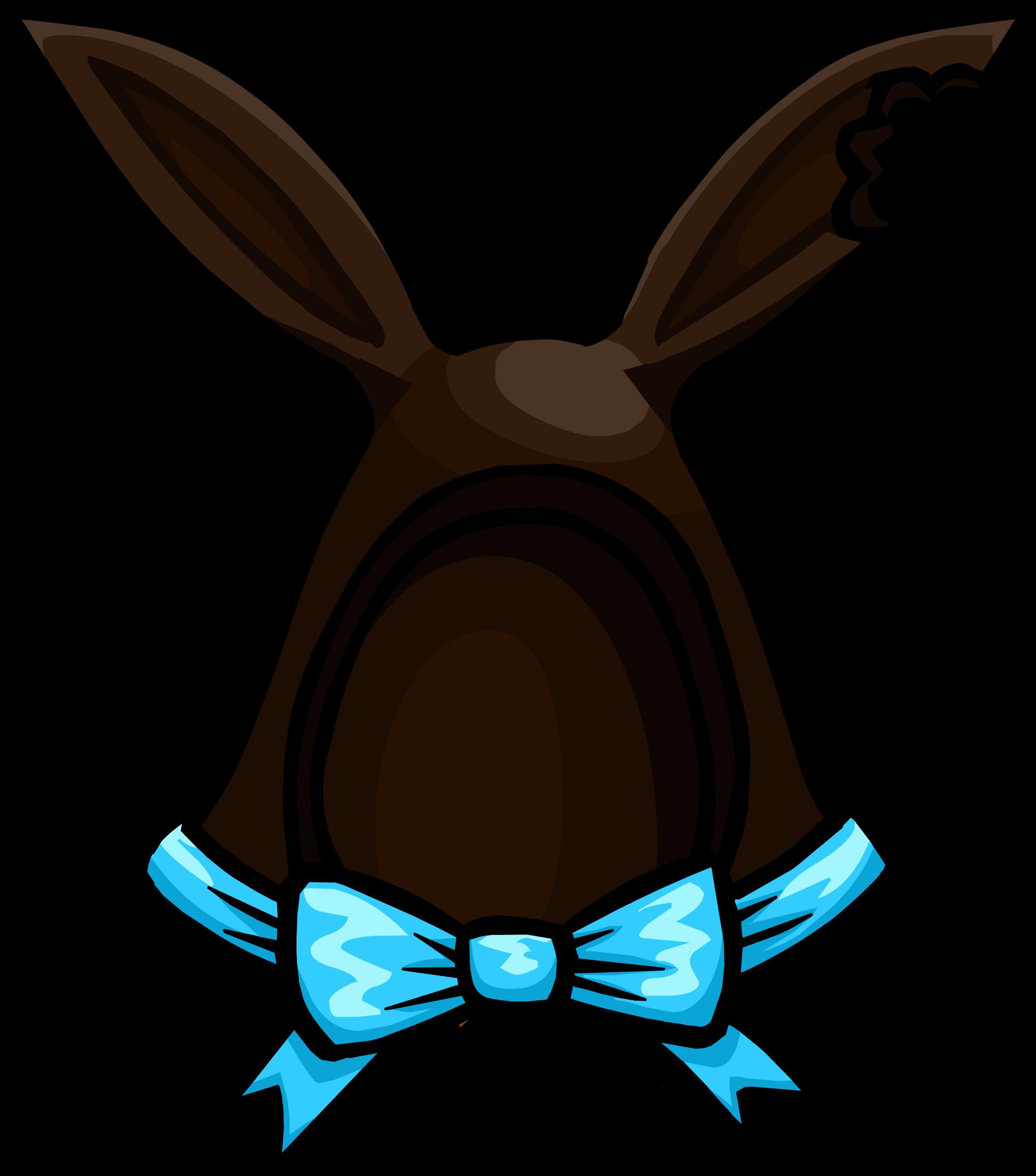 Dark Cocoa Bunny Ears