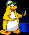 Penguin Mail postcard penguin