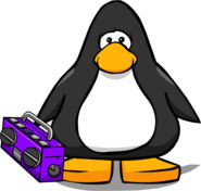 Purple Boom Box (ID 5159) on Player Card