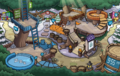 Puffle Party 2014 Snow Forts