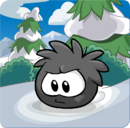 Puffle Party 2013 Transformation Puffle Black