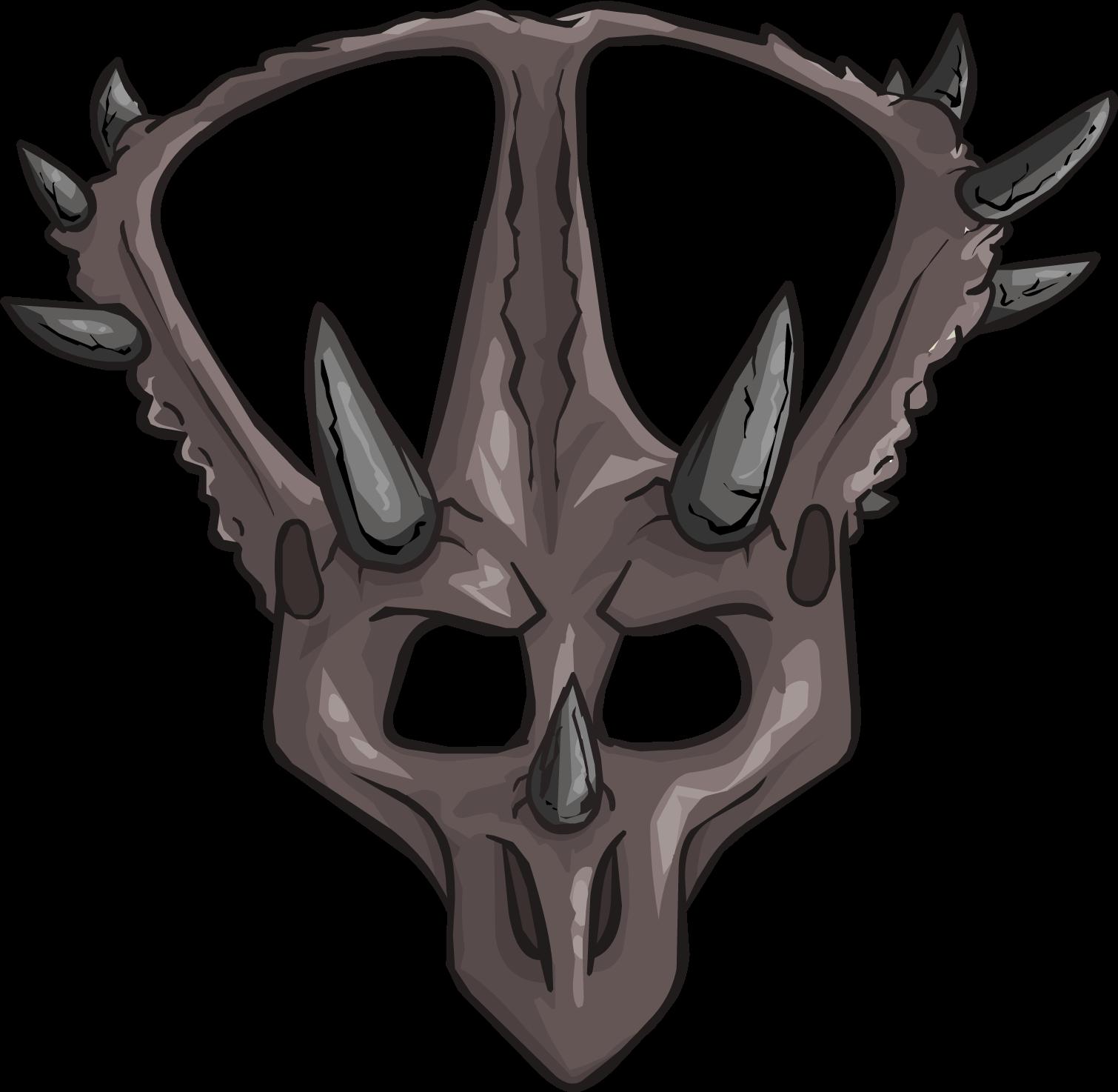 Máscara de Triceratops