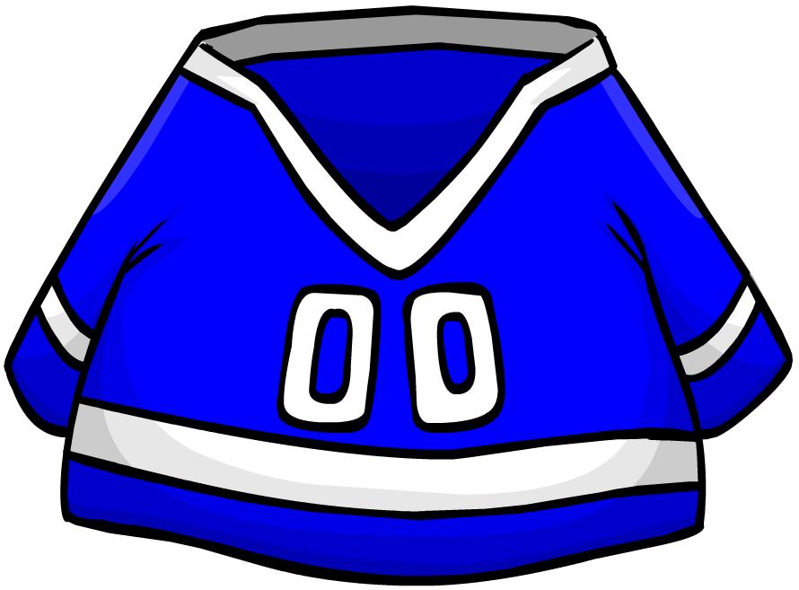 Blue Hockey Jersey