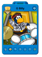 G Billy Playercard New