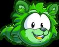 Puffle green1008 paper