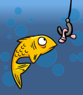 FLUFFY THE FISH card image