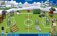 My igloo during penguin prom and penguin cup 2014