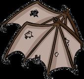 Brown Bat Wings Icon 3135.png