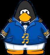 Abrigo de Capitan de Crucero carta