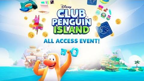 All Access Event Sizzle Disney Club Penguin Island