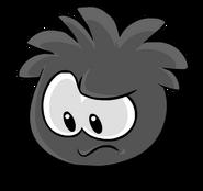 Black PuffleUnhappy