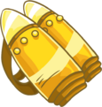 Gold Jet Pack clothing icon ID 3187