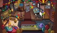 Cafeteria en la fiesta del 8vo aniversario