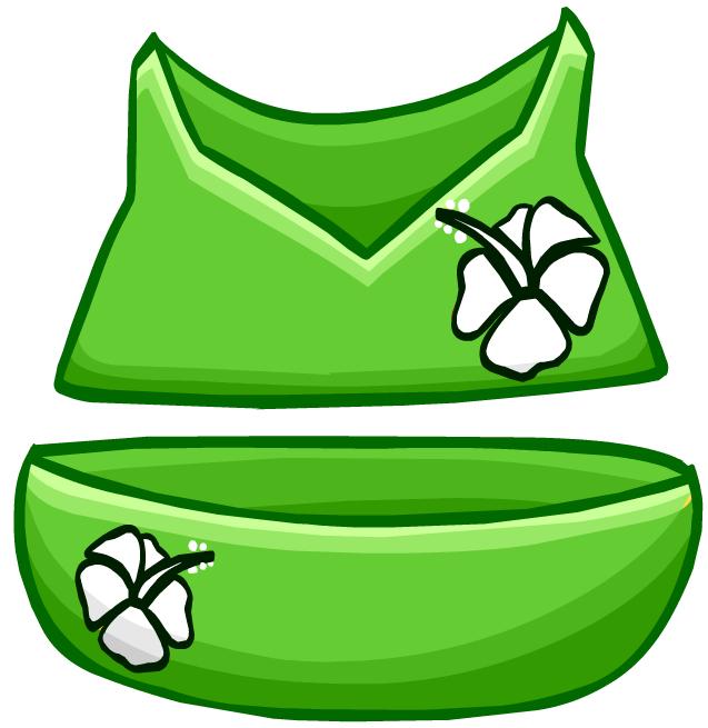 Bikini Floreado Verde