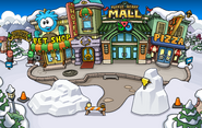 Festival of Snow 2015 construction Plaza