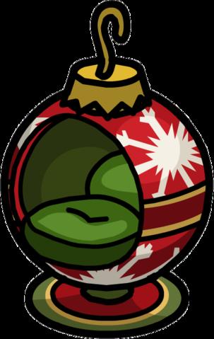Silla de Bola de Navidad