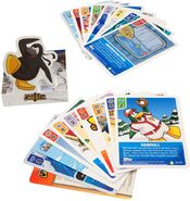 Card-Jitsu TCG blister pack popup contents