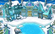 Frozen Party Town frozen