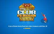 Pirate Party 2014 logo screen
