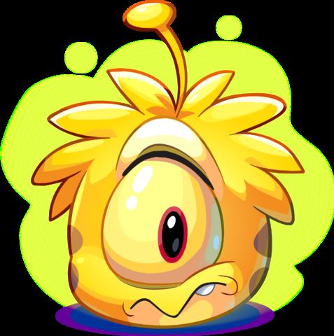 Puffle Extraterrestre Amarillo