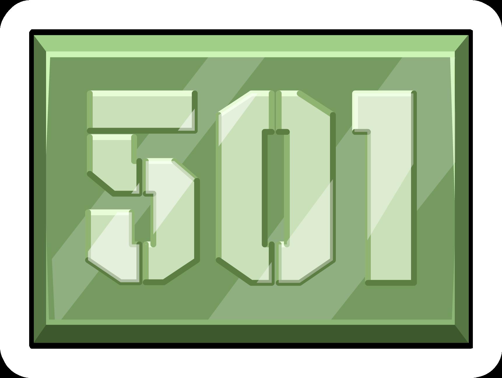 Area 501 Pin