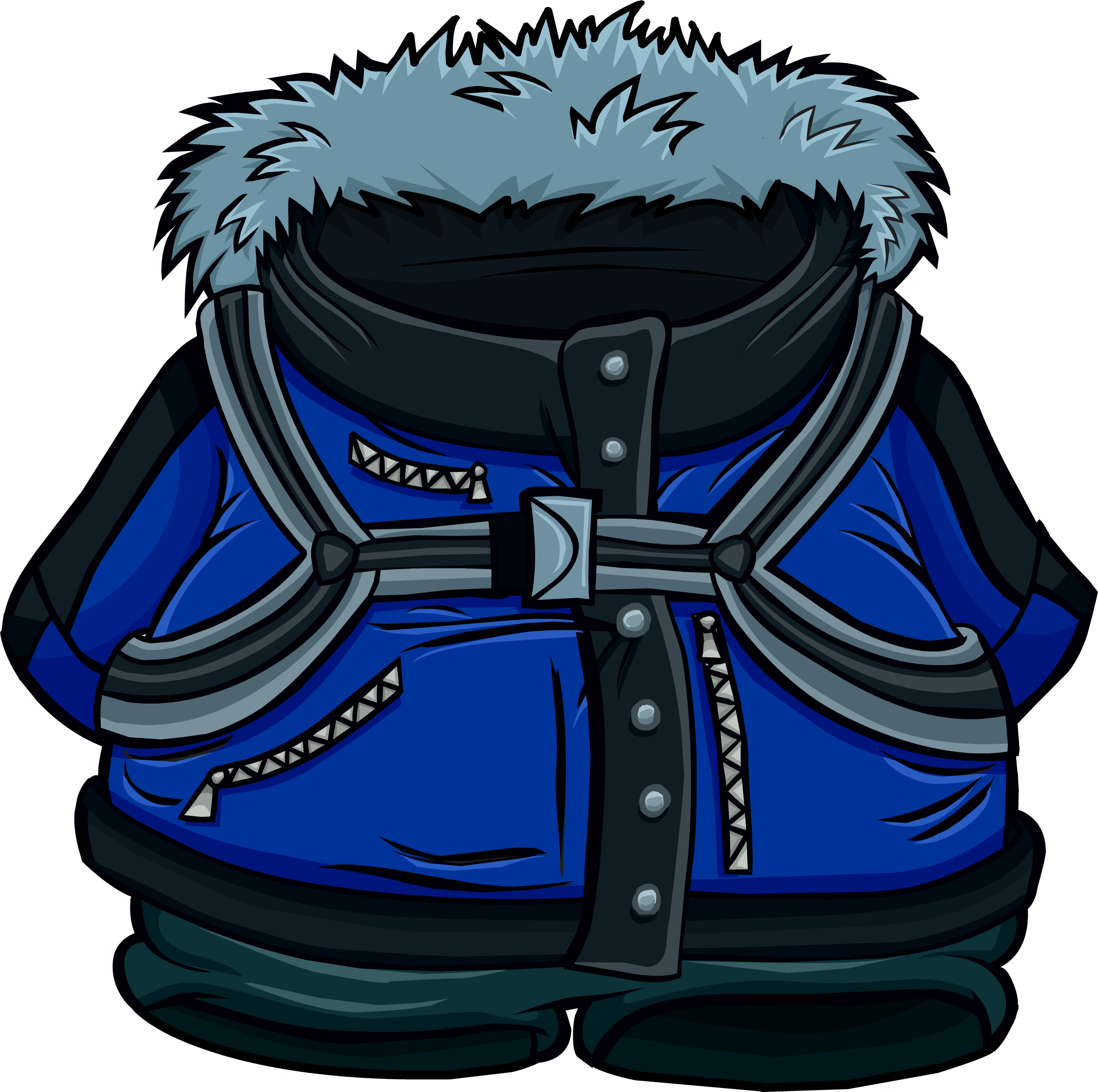 Blue Expedition Jacket