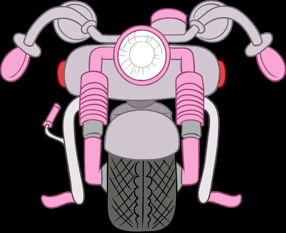 Motocicleta Rosa