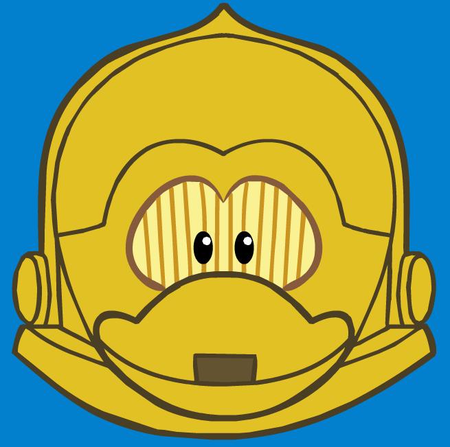 Máscara de C-3PO