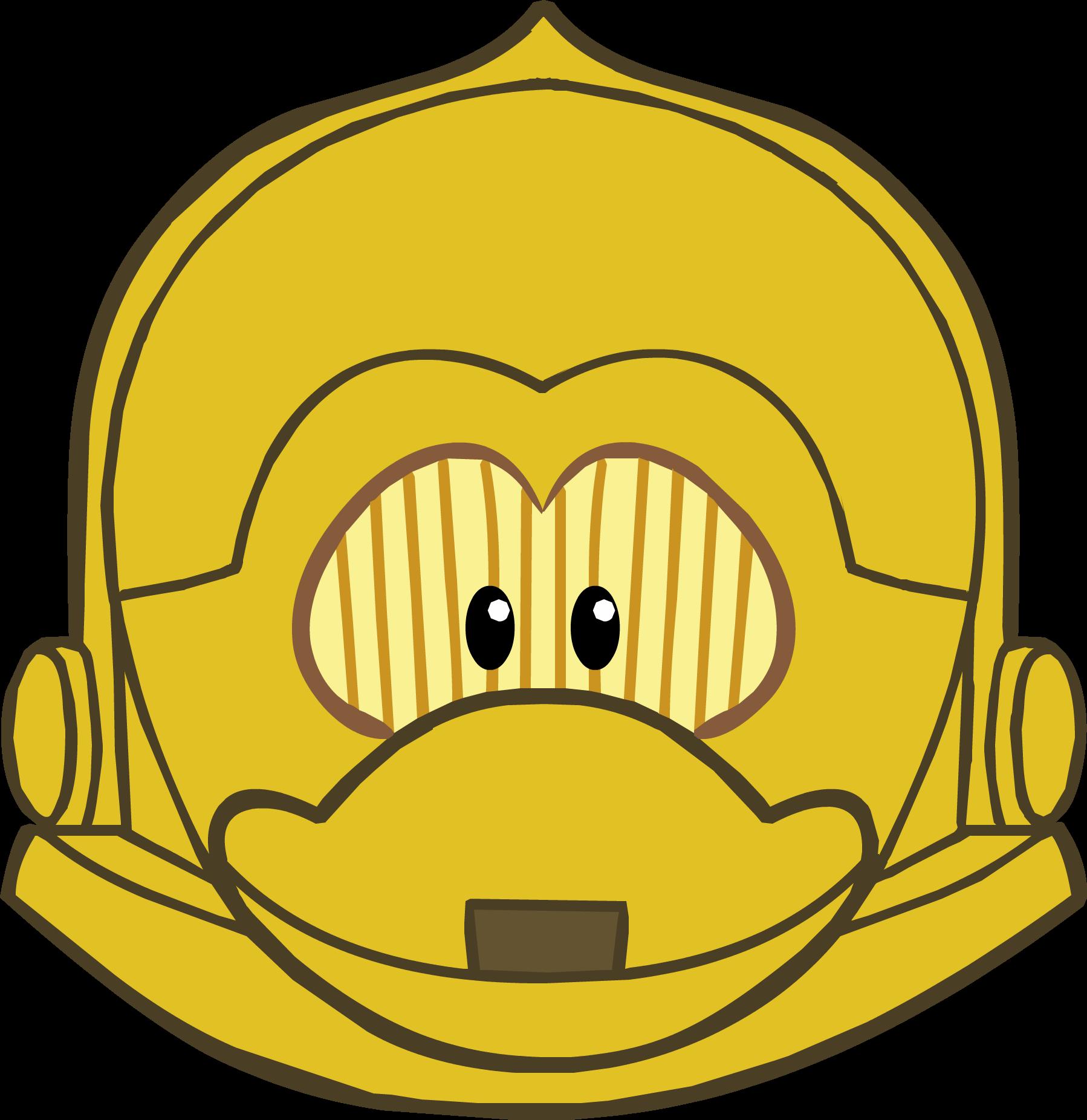C-3PO Mask