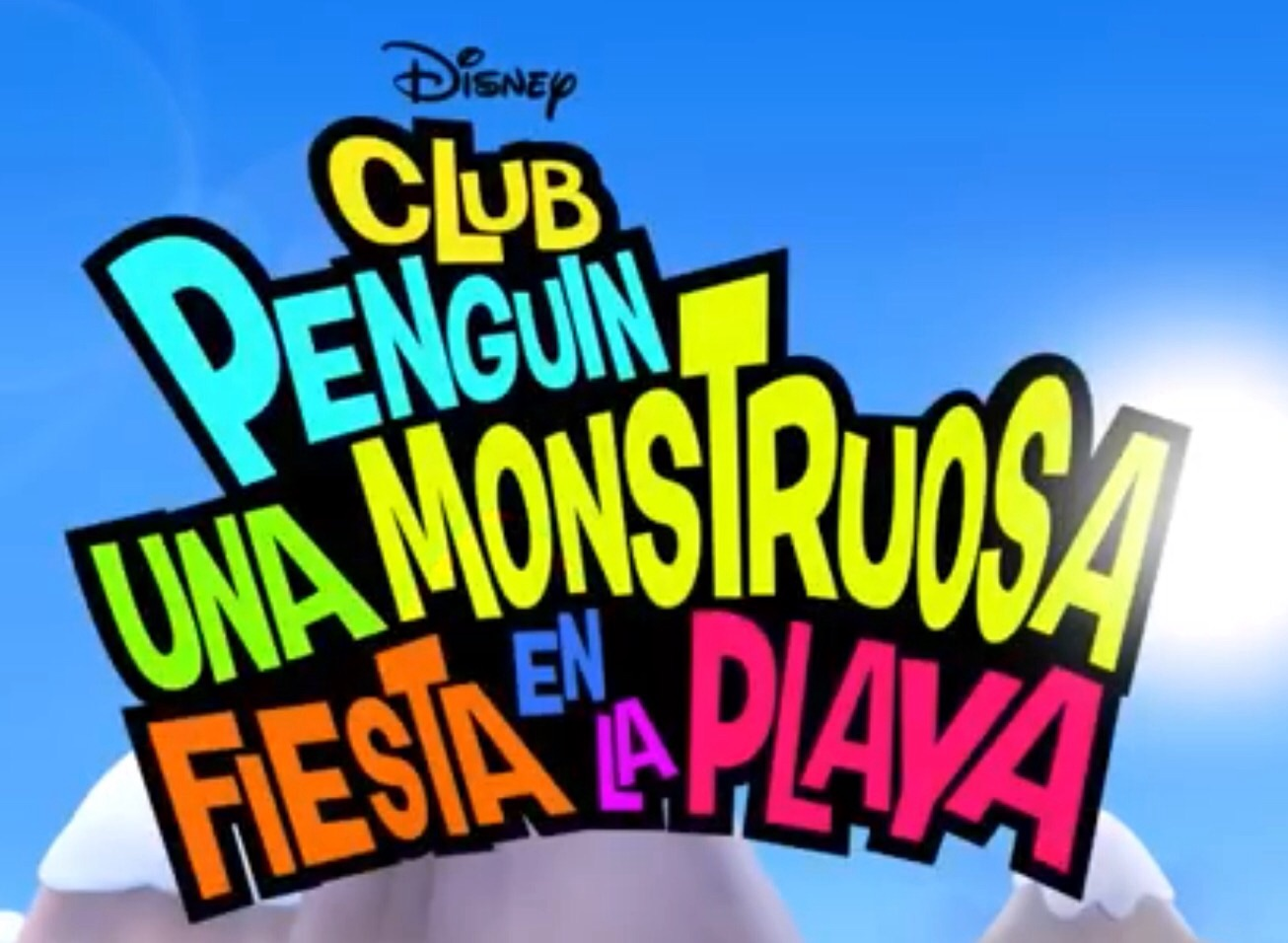 Club Penguin: Una Monstruosa Fiesta en la Playa