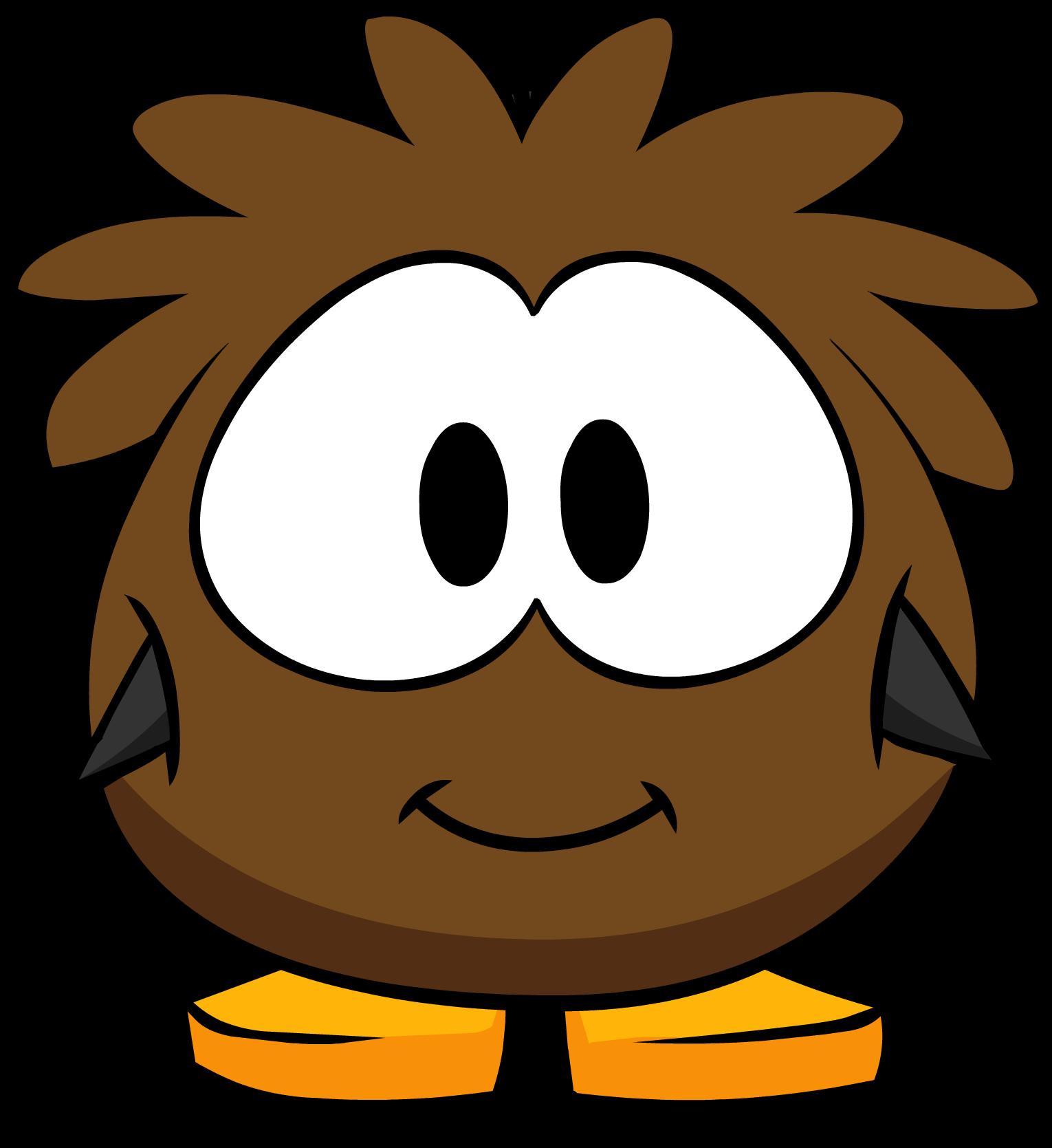 Brown Puffle Costume