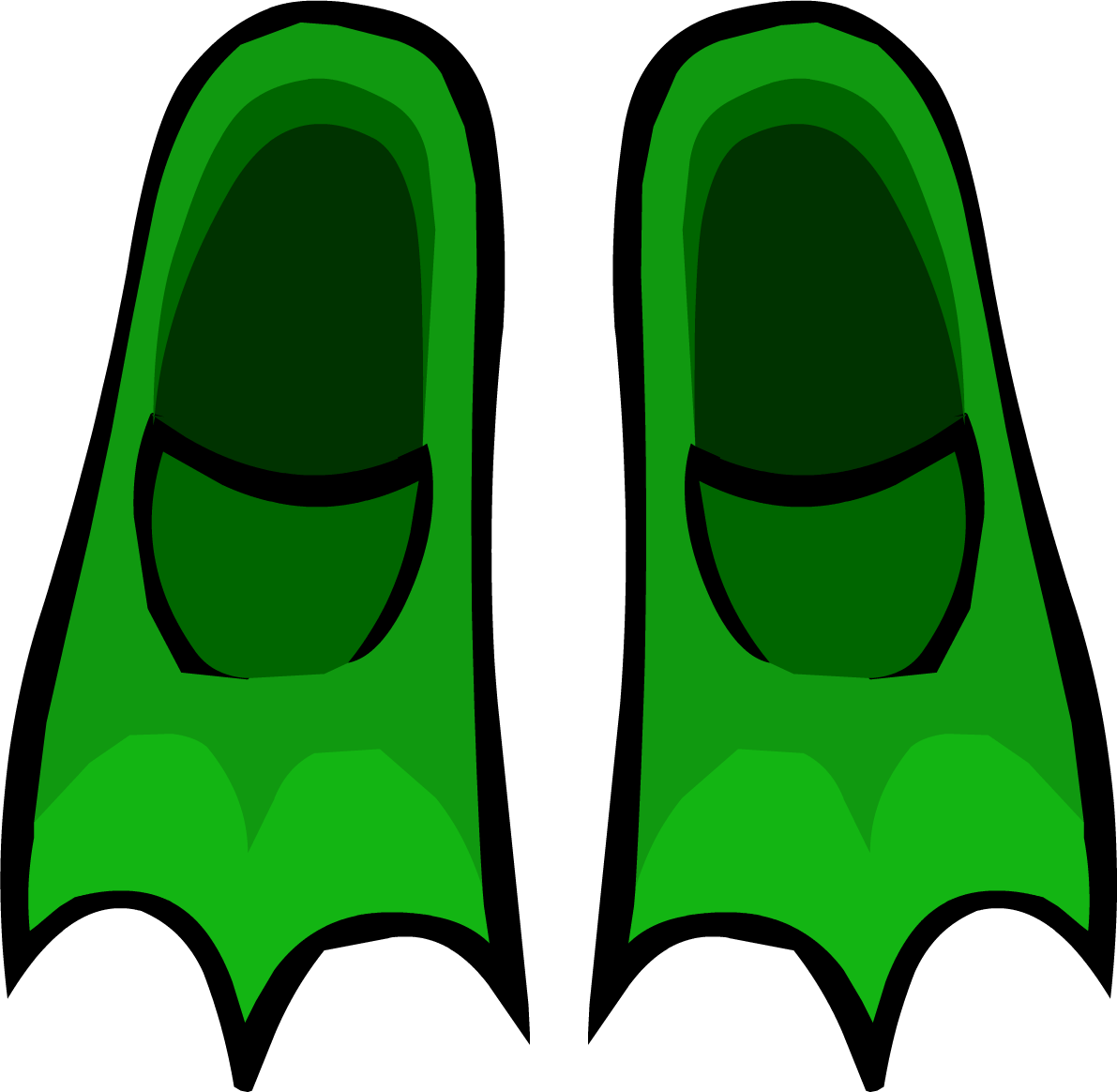 Green Flippers