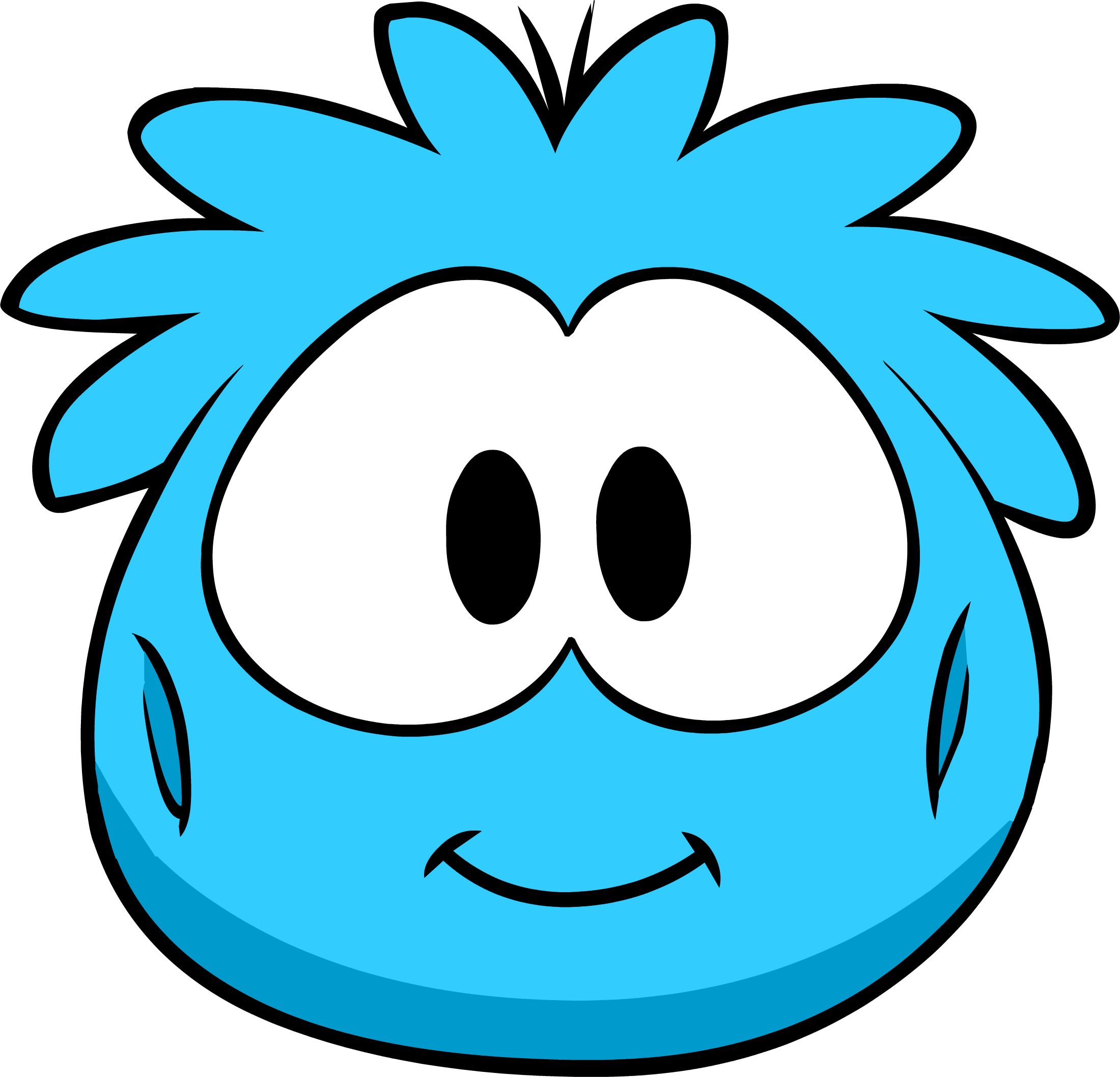 Blue Puffle Costume