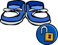 Blue Sneakers unlockable icon