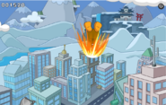 Penguin on Fire SHB