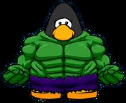 Traje de Hulk carta