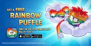 Rainbow Puffles free for everyone promo