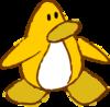 Doodle Dimension penguin Yellow