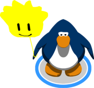 Globo de Puffle Amarillo juego