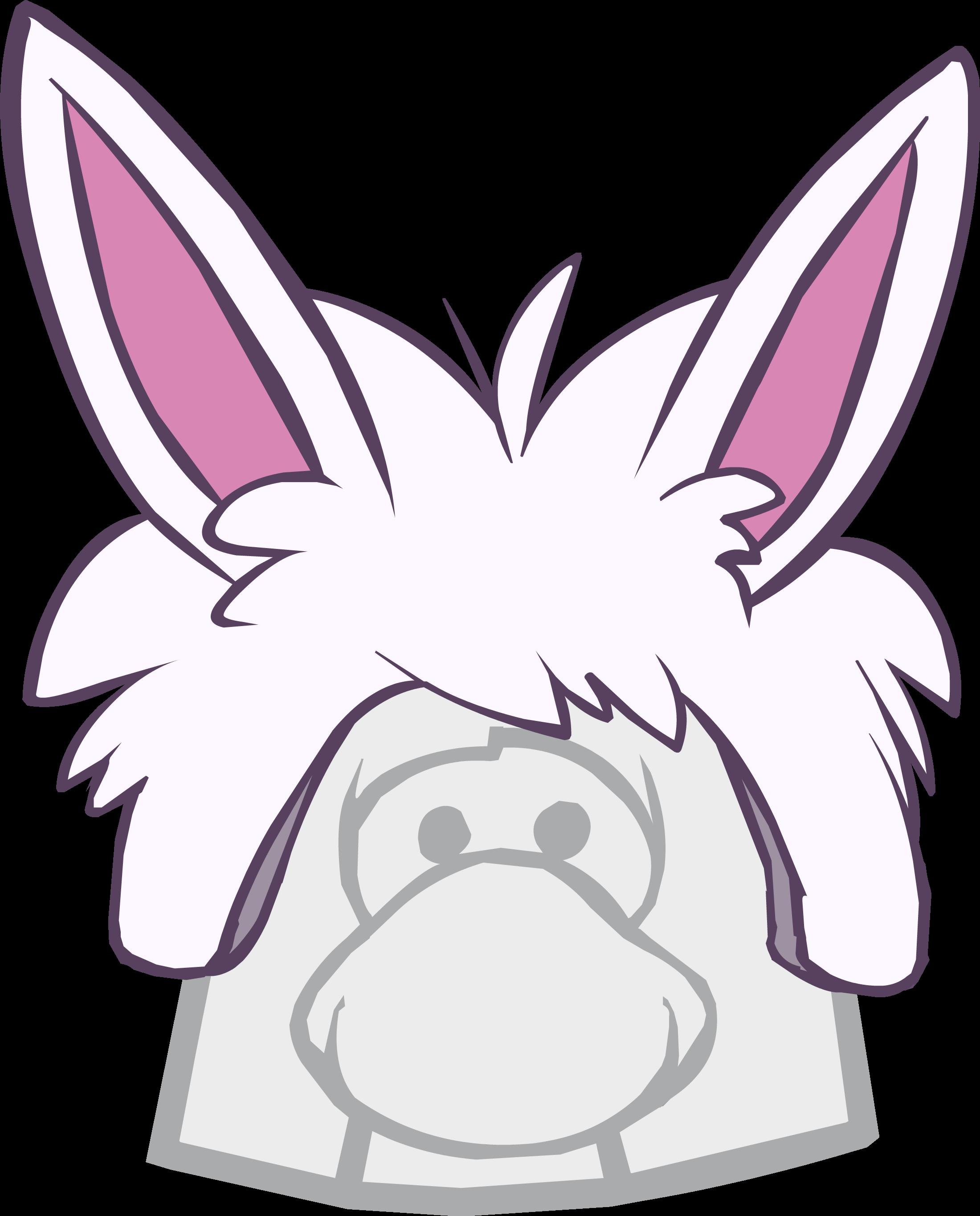 Gorro de Puffle Conejo