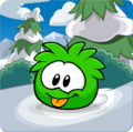 Puffle Party 2013 Transformation Puffle Green
